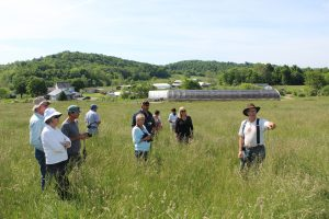 Farming tour at Polyface with Joel Salatin
